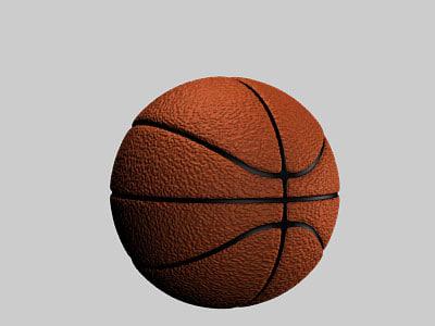 blender basketball ball