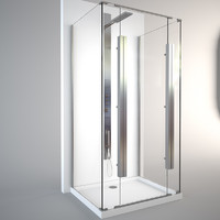 Calibe Aquarium shower cabin + Fantini Acquatronica