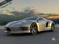 Concept Custom SuperSport Car 3