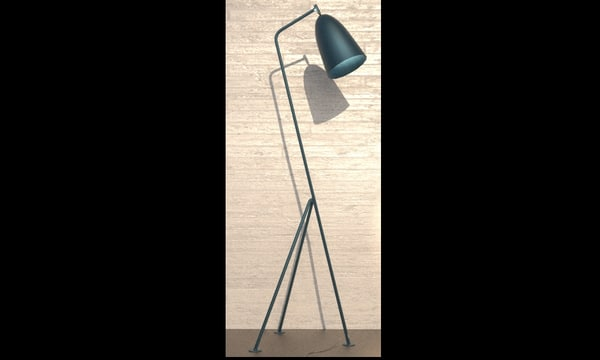lamp greta grossman 3ds
