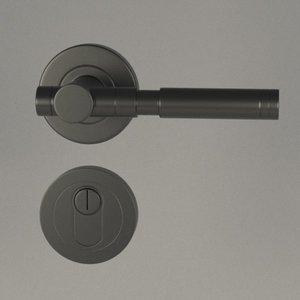 door handle 3d 3ds