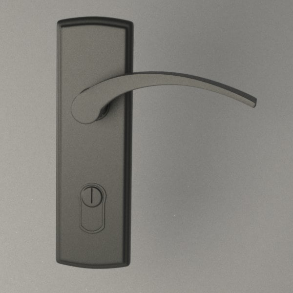 obj door handle
