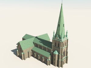 neo gothic church pz3