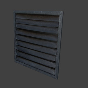 3ds max metal grill gril