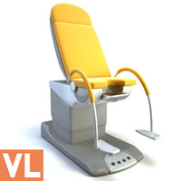 gynecological chair 3d model