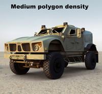 m-atv mrap v2 3d model
