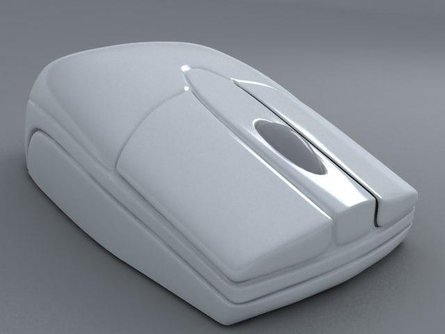 mouse computer 3d model