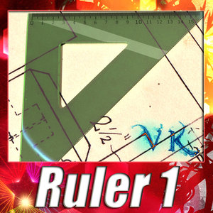 ruler - square 3d max