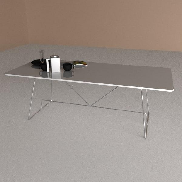 3d 3ds table duke