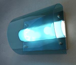 3d wall lamp vistosi chimera model
