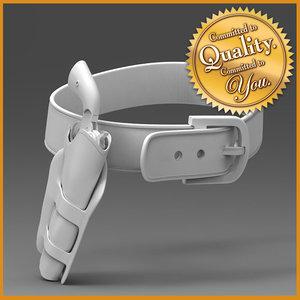 cowboy pistol case belt max