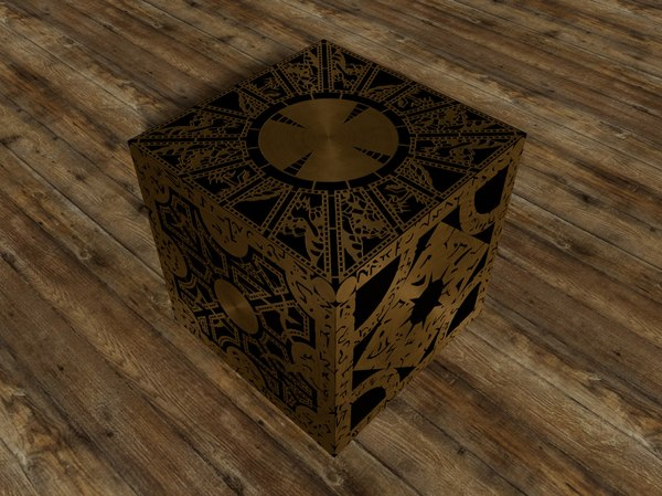 3d cube hellraiser