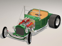 23T Roadster Hot Rod bbv8 ida engine