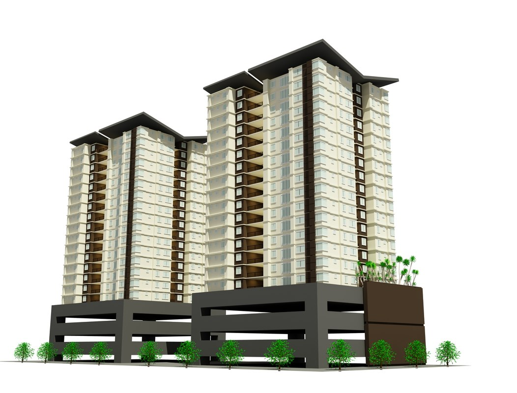 apartment housing 3ds