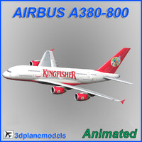 Airbus A380-800 Kingfisher airlines