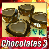 chocolates 03 3d 3ds