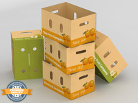 max corrugated fruits vegetables box
