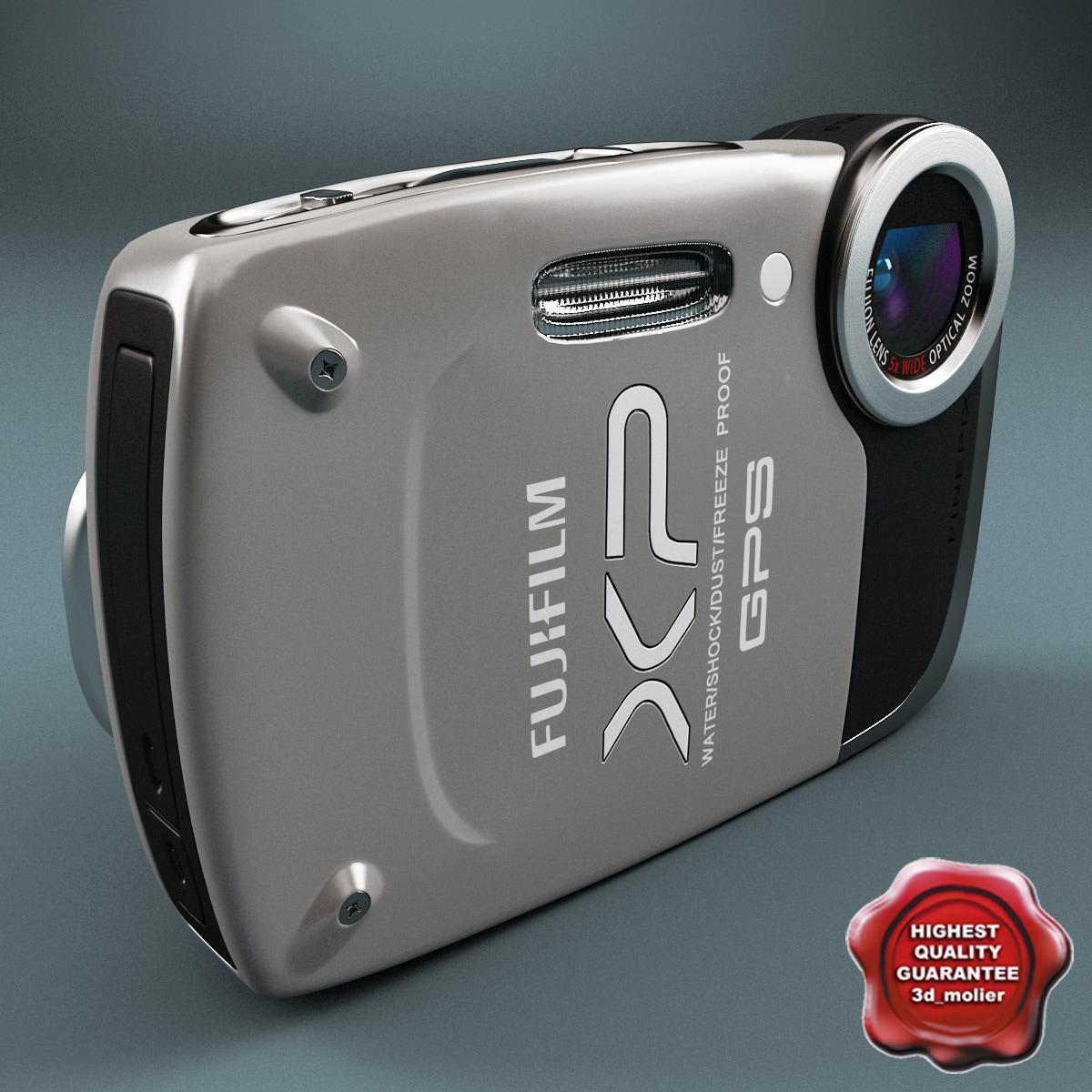 fujifilm finepix xp30 grey 3d max