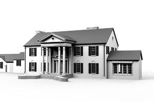 3d model elvis mansion