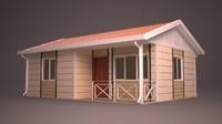 3d homes building model
