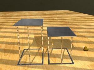 obj tables livingroom office