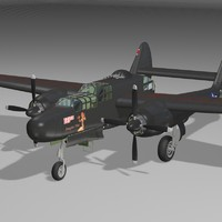 max p61 bomber military aircraft