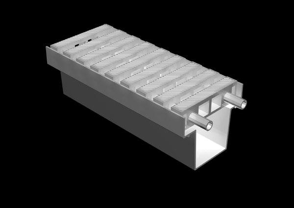 modular pool deck drain max