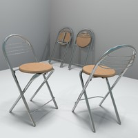 3d model kitchen stool