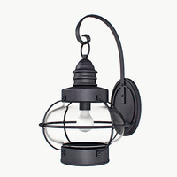 3d lantern light antique