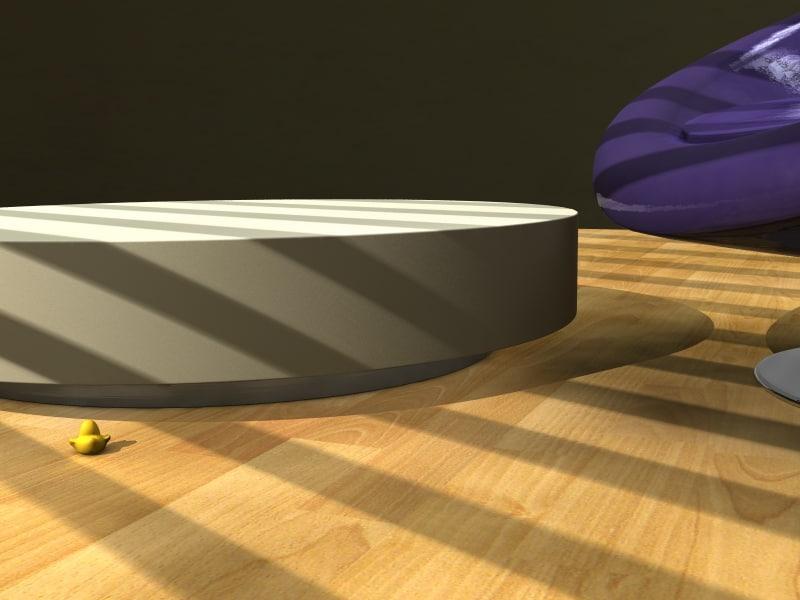 3d model table livingroom office