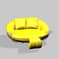 3d model solaris sofa