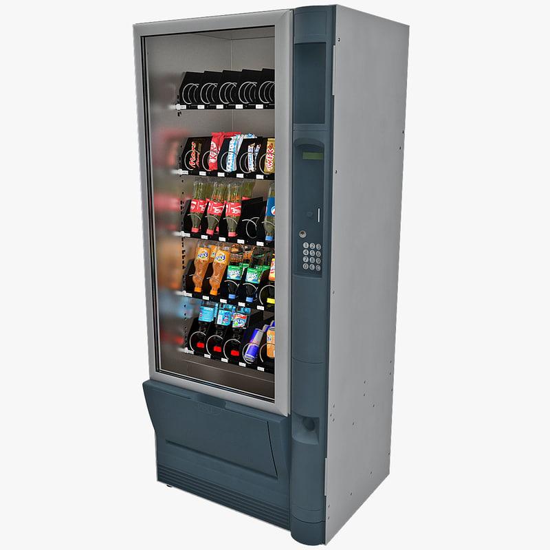 vending machine 2 c4d