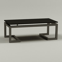 coffee table 3d 3ds