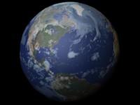 Maya Mapped Earth