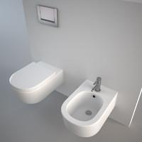 Flaminia Link bidet + toilet