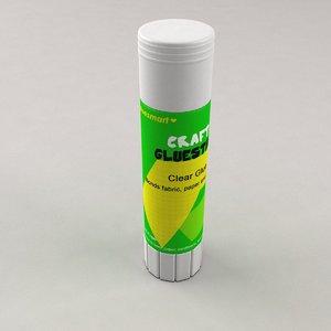 gluestick glue stick 3d model