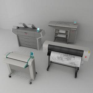 plotters oce 3d model