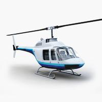 3d bell 206 model