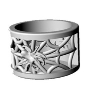 ring spider 3d 3ds