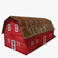 old red barn 3d 3ds