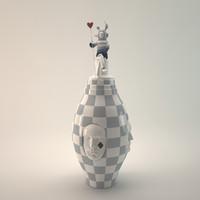 LLADRO Conversation Vase