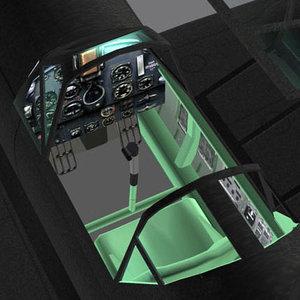 3d model of bf109 prop