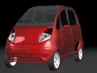 nano car 3d model