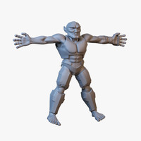 3ds max monster human