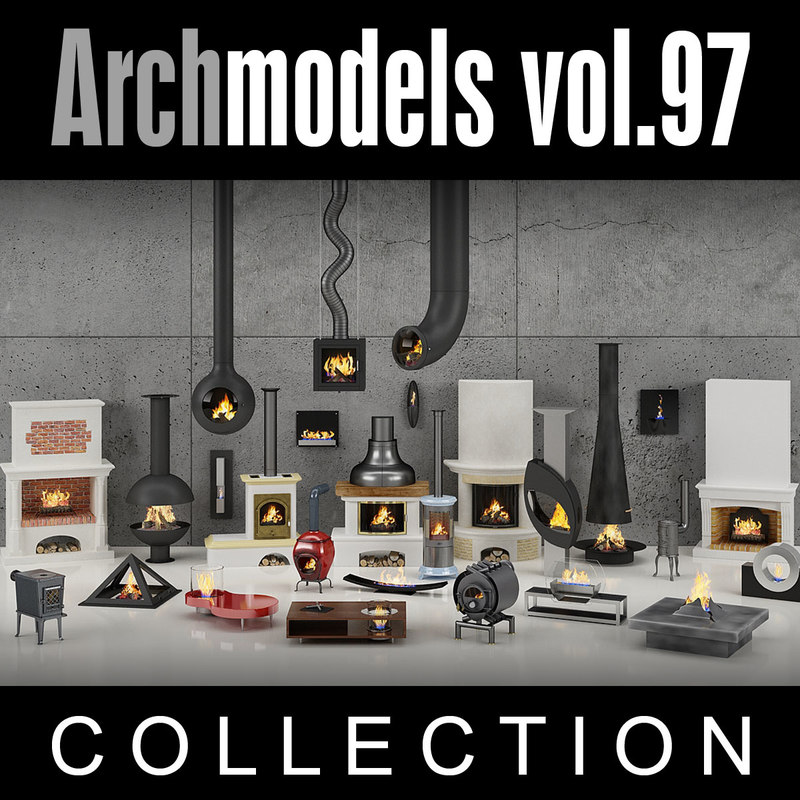 archmodels vol 97 3d model