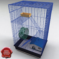 animal cage big 3ds
