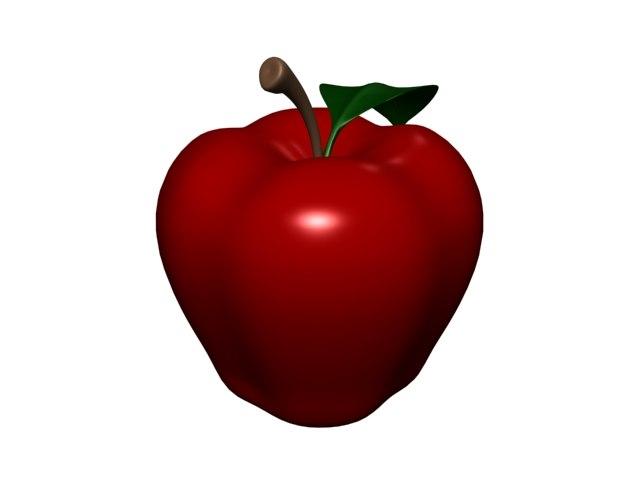 3ds max apple