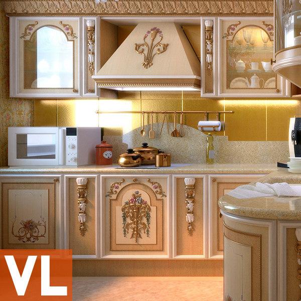 3d kitchen asnaghi - vienna