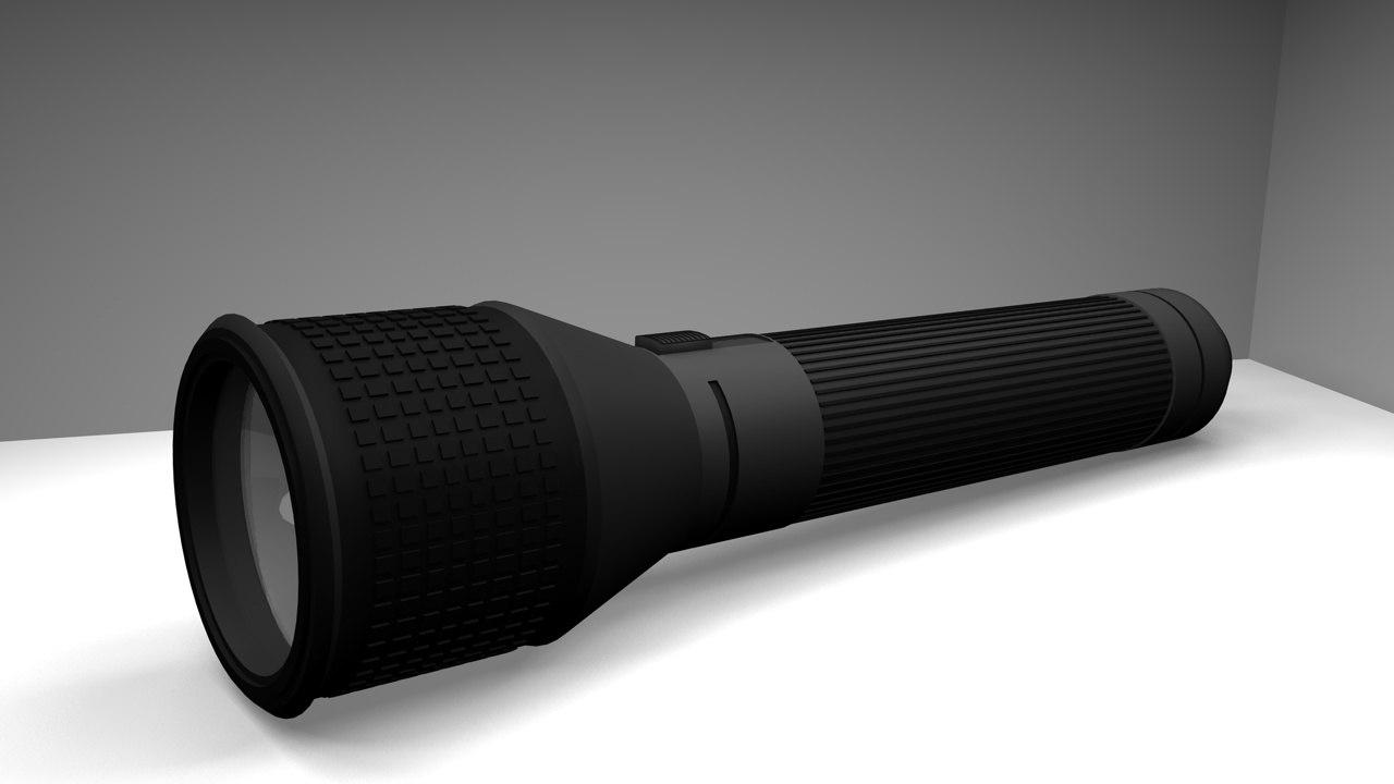 3dsmax flashlight hd