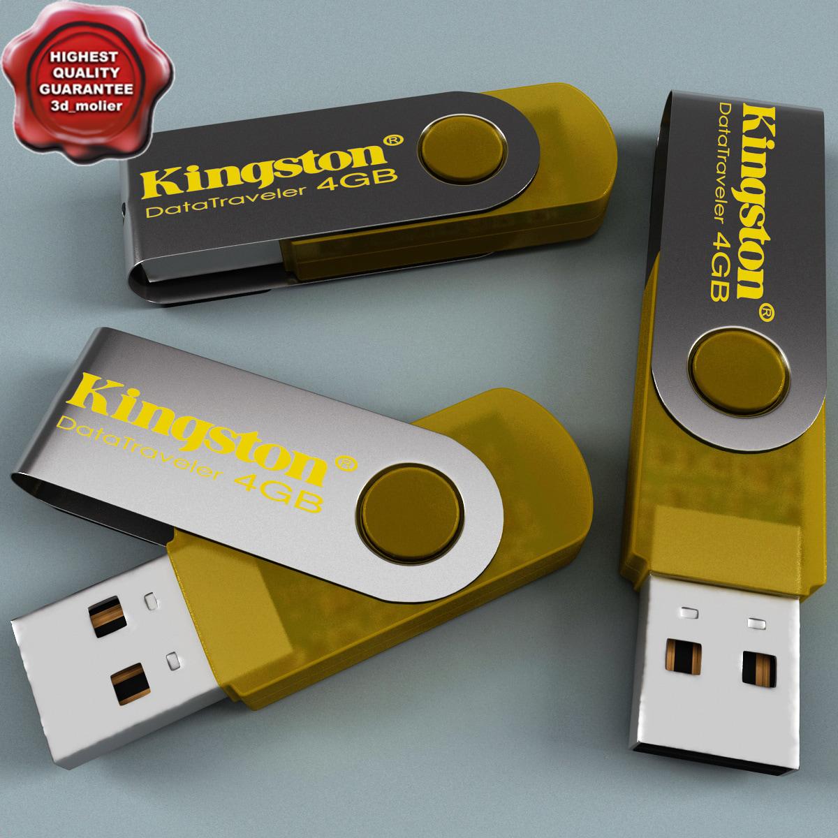 3d kingston flash 4gb